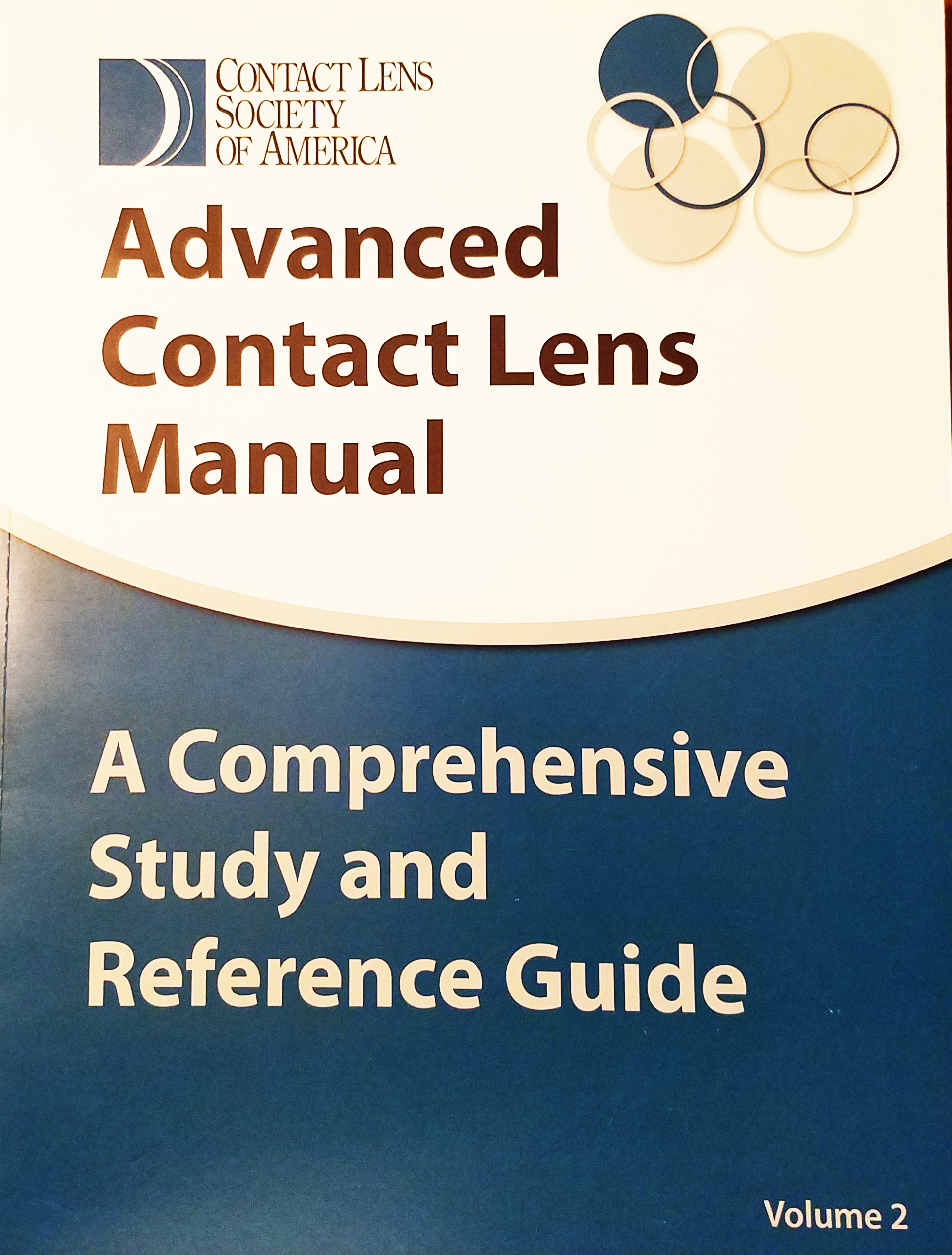 Contact Lens Manual Vol II