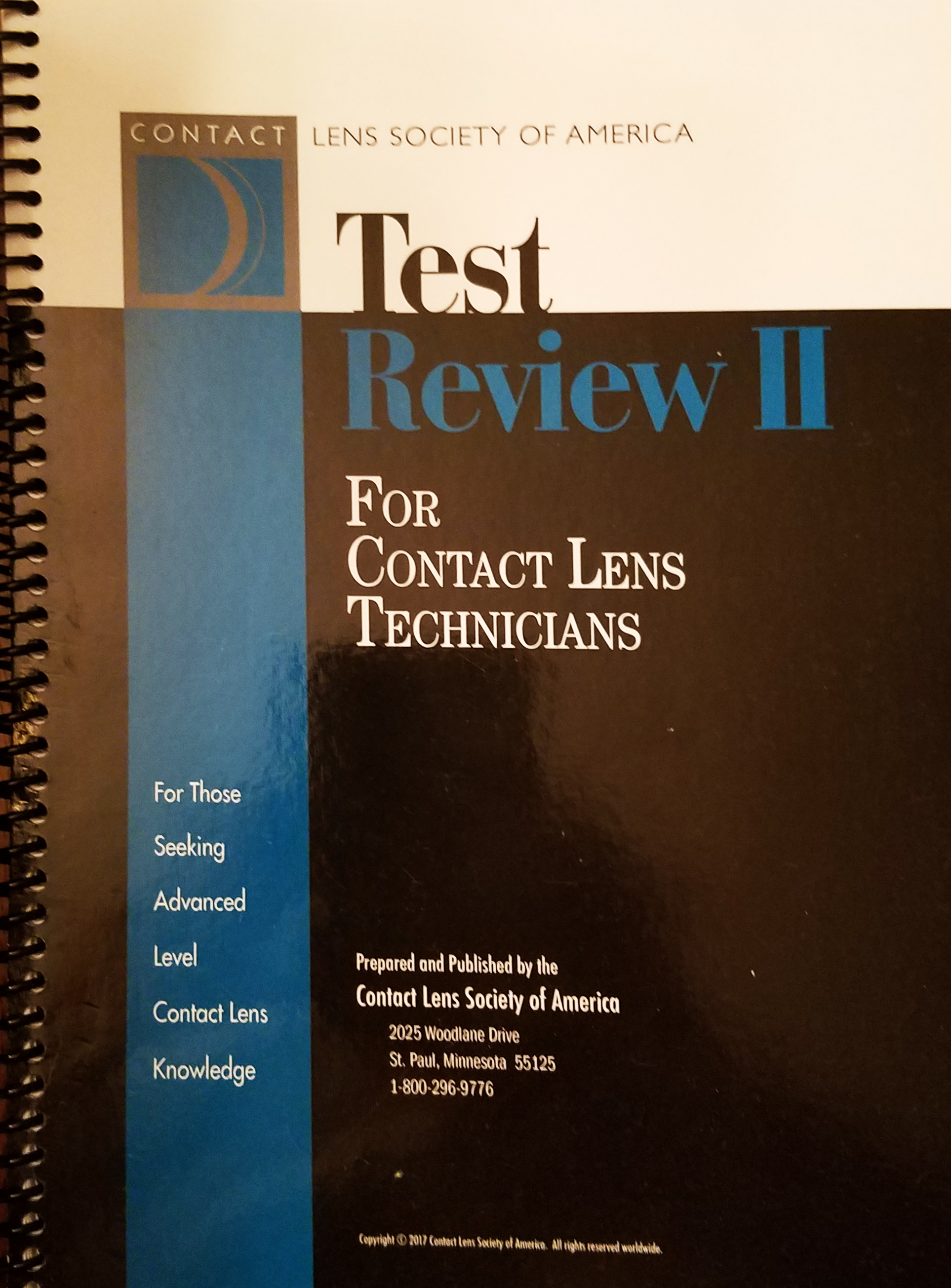 Test Review Vol II
